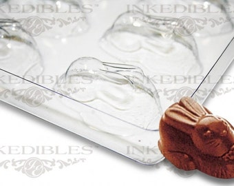 Non-Stick Transparent Chocolate Mold (Easter Bunnies for PP-2021)