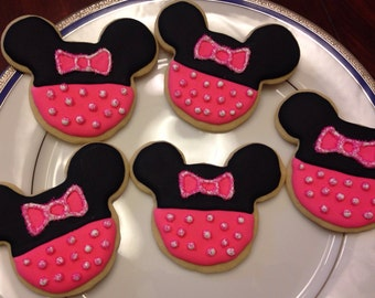 Girly Mouse Cookies