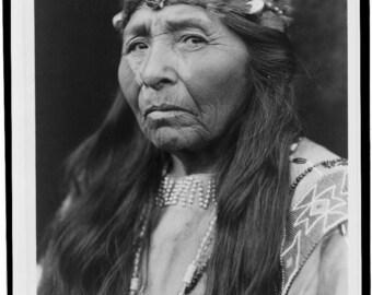 Klamath Woman- American Indian-Native American-Photo Print