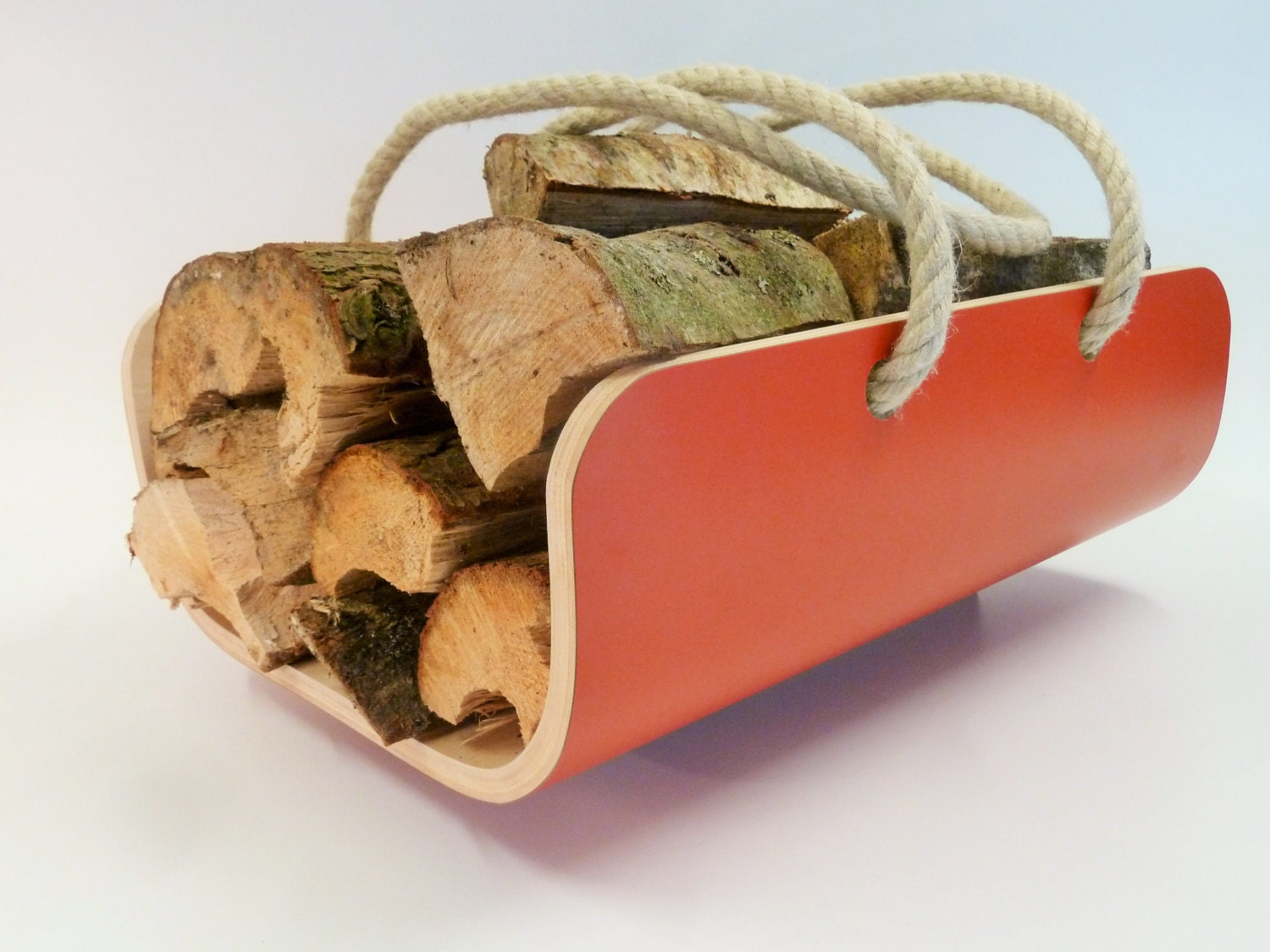 modern log holder  carrier available in various colours - like this item