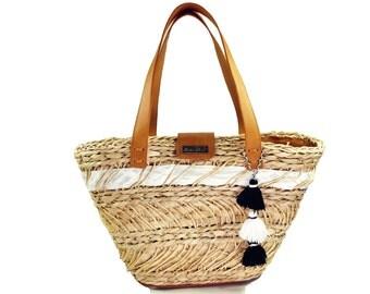 Summer tote Bag / Large tote beach bag / Beach bag