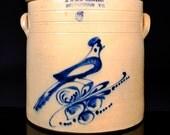 Antique Stoneware Crock by E & LP Norton Bennington VT