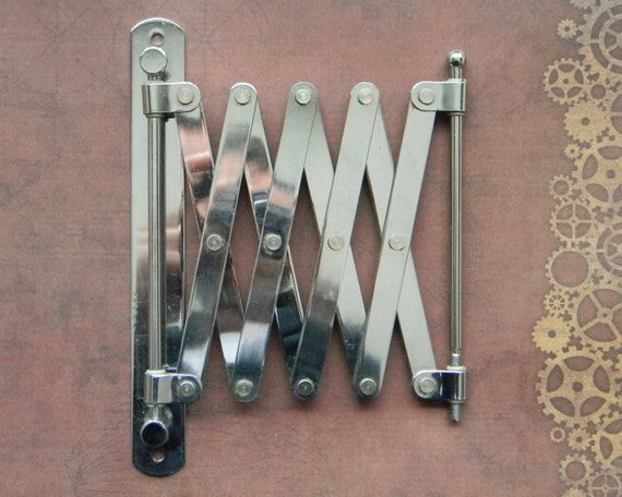 Bright Functional Scissor Extension Arm For Steampunk Crafters