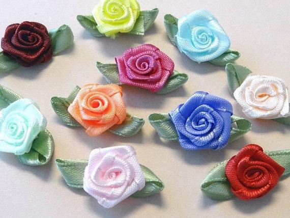 Craft Supplies Ribbon Roses