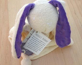 Easter Bunny // Snuggle Bunny // Towel Lovey // Stuffed Bunny Toy