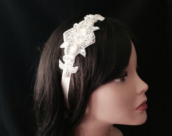 Bridal Headband- Rhinestone Bridal Headband- Bridal Headpiece