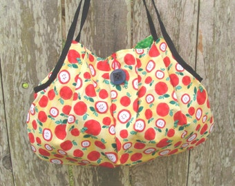 Red & Yellow Apple Shoulder Bag Purse