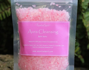 Aromatherapy Bath Salts - Aura Cleansing