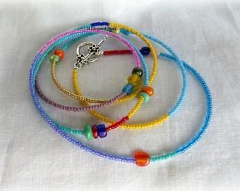 Multi-Color Wrap Stackable Bracelet