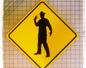 Freddy Krueger / Nightmare on Elm Street Sign