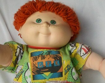 1990 Over the Top Cabbage Patch Kid Boy Doll