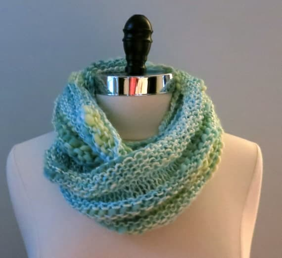 Knitting Pattern Coat : Knitting Pattern for Bamboo Bloom Yarn Infinity Scarf, Cowl from WomanOnTheWa...