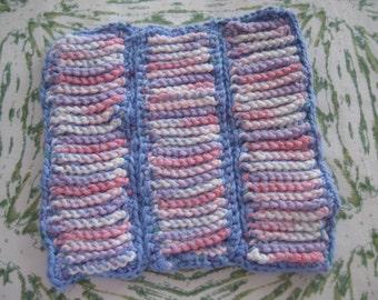 Double crochet potholder