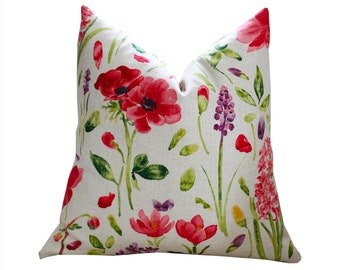 Sanderson Spring Flowers Pillow Cover