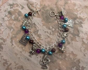 Handmade Aladdin Charms Bracelet