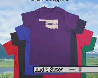 Oklahoma home tshirt KIDS sizes The Original home tshirt
