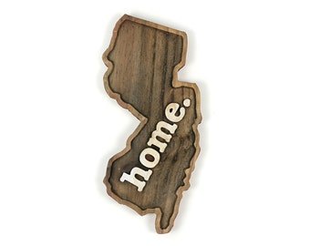New Jersey home. Rough Cut Mill Wood Wall Hanging