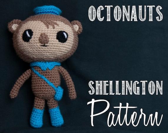 Shellington The Octonauts Amigurumi Crochet Pattern Crochet For Days