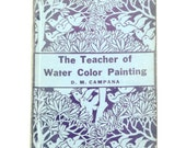 Teacher of Watercolor Painting Book 1942