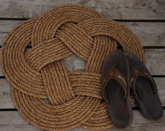 Rustic Rope Rug (outdoor, indoor)