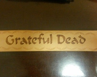 grateful dead Leather Bracelet