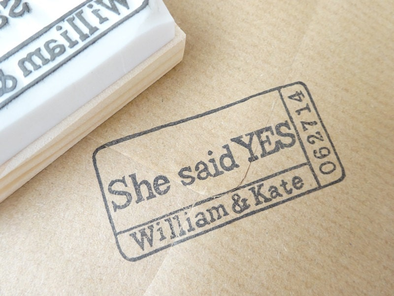 Wedding Invite Stamp: Wedding Invitation Stamp Ticket Rubber Stamp Custom Stamp