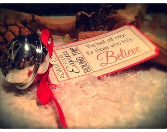 "Polar Express bell ""believe"" - Christmas decoration"