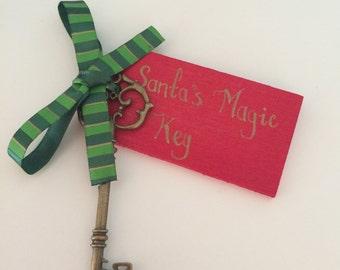 Santa key/Santa's magic key (can be personalised)