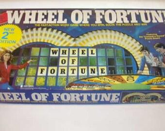 wheel of fortune bingo board game instructions