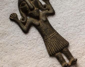 Fertility sculpture from Mesopotamia circa 2000 BC Bronze Age