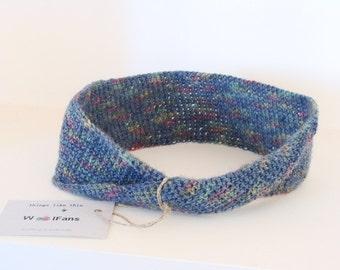 Hand crochet headband, woman's headband, wool headband
