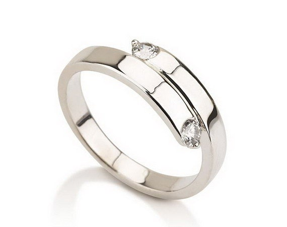 items similar to promise ring couples ring purity ring