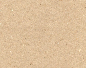 Kraft Brown 20 Pieces  A4 Card or Paper 100% Recycled 150gsm 230gsm 335gsm