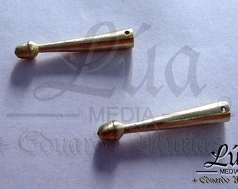 Aglets made of brass for reenactment