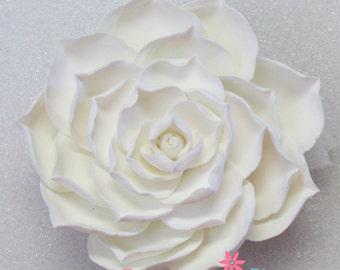 Gumpaste Succulent Flowers - Fondant Wedding Cake Topper