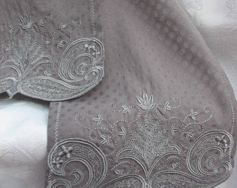 FS-015 Embroidered Scarf