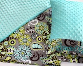 Items Similar To Nap Mat Cover Teal Lime Paisley