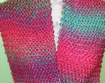 Soft cowl scarf