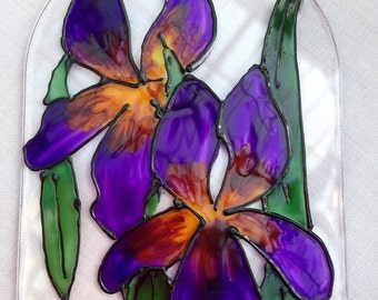 Iris suncatchers