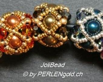 Tutorial: JoliBead - Beaded Bead (English/German)