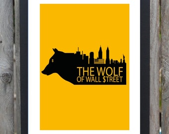 Wolf of wall street   Etsy