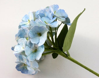 Hydrangea - Handcrafted Single Stem Paper Flower