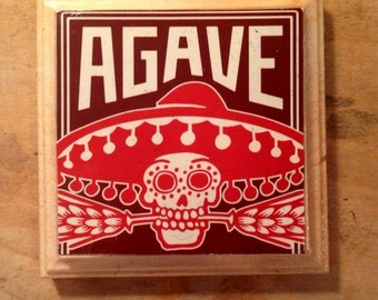 Agave Wheat Beer Coaster