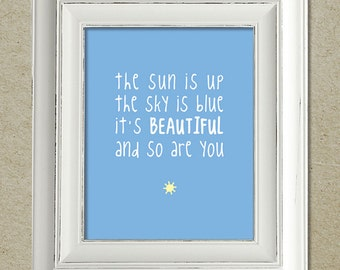 beatles art print / dear prudence lyrics
