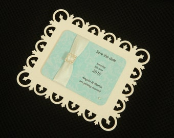10 magnetic save the date cards
