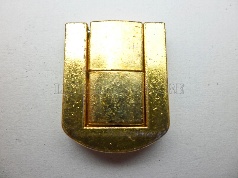 25mmx20mm Golden Lock Latch Small Box Hardware Chest