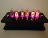 6 Digit IN-8-2 QTC Nixie Clock -  With Optional GPS Synchronization