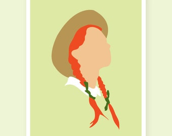 Anne of Green Gables Art Print Printable 8x10 PDF INSTANT DL