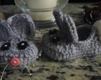 Bunny Slippers for Baby/Toddler