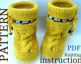 Popular items for knit pattern on Etsy